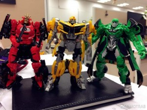 Transformers News: New Image of Transformers: The Last Knight Crosshairs, Bumblebee, and Drift