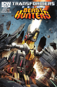 Transformers News: Transformers Prime: Beast Hunters #1 Preview