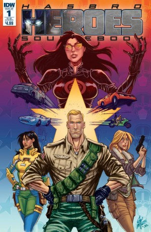 Quick Review of IDW Hasbro Heroes Sourcebook #1