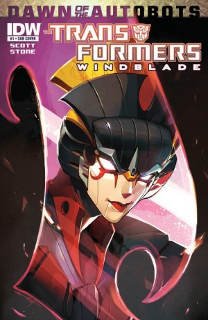 Transformers News: IDW Transformers: Windblade #1 Review