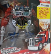 Transformers News: Transformers Prime Weaponizers spotted in UK