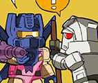Transformers News: Takara Tomy Kre-O Web Comic Episodes 2 and 3