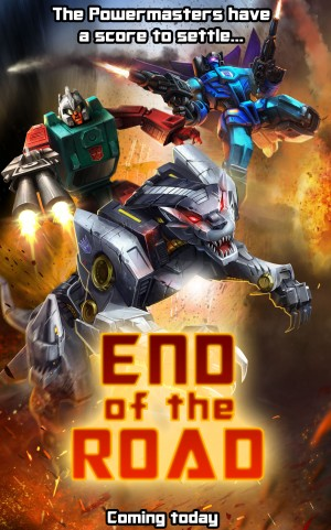 Transformers News: Transformers: Legends Mobile Device Game 'End of the Road' Episode