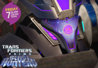 "Transformers Prime Beast Hunters ""Minus One"" Promo Image"