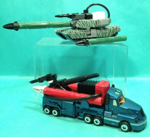 Transformers News: Unreleased G2 Combat Heroes Optimus Prime and Megatron Redecos