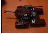 Possible Generations / Reveal The Shield Warpath Tank pics