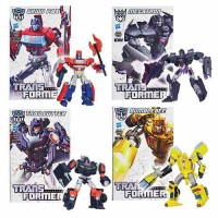 Transformers News: New Official Image: Transformers Generations IDW Deluxes with Comic Covers