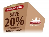 Transformers News: Ages Three and Up Boxing Day Sale