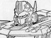 Transformers News: Transformers Classics Design Sketches of Optimus Prime!
