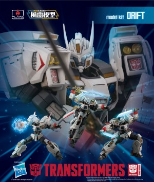 Flame Toys Transformers Skywarp and Drift Up for Preorder