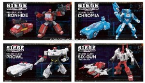 Transformers News: ROBOTKINGDOM.COM Newsletter #1460 Includes Preorders for Siege Wave 2