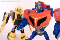 Transformers News: New Toy Galleries - Activators Armor Up Optimus Prime and Battlefield Bumblebee