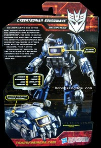 Transformers News: Biographies of Generations Cybertronian Soundwave and Red Alert
