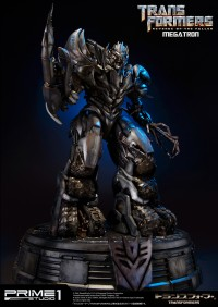 Transformers News: Transformers: Revenge of the Fallen Megatron Polystone Statue from Prime1Studio