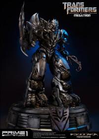 Transformers News: Transformers: Revenge of the Fallen Megatron Polystone Statue from Prime1Studio