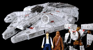 Star Wars / Transformers Millennium Falcon and More in HobbyLinkJapan Newsletter
