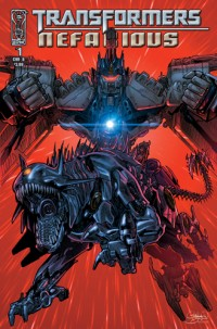 Transformers News: IDW Publishing Press Release on Transformers Nefarious