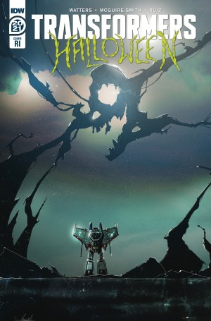 IDW Transformers Halloween Special Review