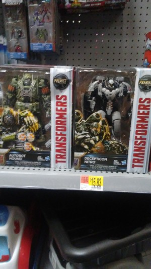 Voyagers Nitro and Scorn from Transformers: The Last Knight Found at Walmart and Amazon
