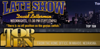 """Optimus Prime To Do """"The Late Show"""" Top Ten List TONIGHT!"""