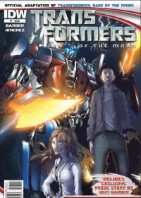 Transformers News: Seibertron.com Reviews Transformers DOTM #1 Official Comic Adaptation