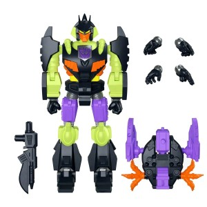New Super7 Transformers Ultimates Bazai-Tron, Bombshell, Starscream and Optimus revealed!