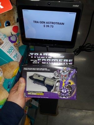 Transformers News: Walmart Drops Price Almost Immediately for G1 Astrotrain Reissue