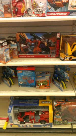 Transformers News: Platinum Optimus vs Megatron and More Found at Winners in Canada