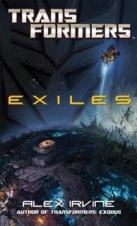 Transformers News: Transformers: Exiles Cover Unveiled