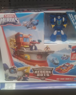 Transformers: Rescue Bots High Tide Rescue Rig and New Vehicle Sets at US Retail