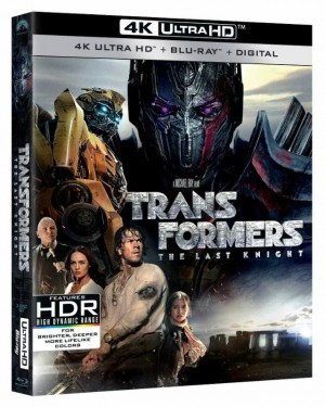 Transformers: The Last Knight Disc Home Release Debuts at Number 1 in US