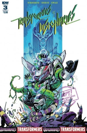 Full Preview for IDW Transformers vs Visionaries #3