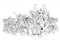 Transformers News: Nick Roche Auto Assembly 2012 Transformers: MTMTE Print