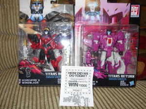Transformers Titans Return Windblade and Misfire Found at Canadian Retail
