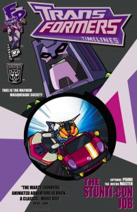 Transformers News: Botcon 2011 Comic Cover Art Revealed