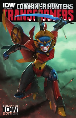 IDW Transformers: Windblade #4 Review
