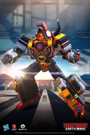 Transformers News: Character Bios - Transformers: Earth Wars Tantrum