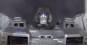 Video Review for Transformers Generations Cyber Series Line Megatron