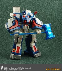 Transformers News: Final Colors of iGear's TF-001 The Wreckers Leader Upgrade