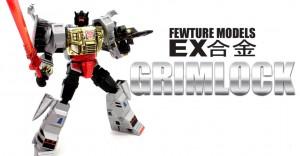 Transformers News: Video Review - Fewture Transformers EX Gokin Grimlock TF-EX02