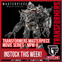TFSource News - MPM8 Megatron, DX9 La Hire, XT Neptune, PX Vejovis, Mars, FT Maverick & More!