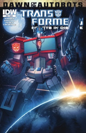 IDW Transformers: Robots in Disguise #28 Preview