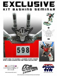Transformers News: Auto Assembly 2012 Kitbash Workshop Details Released