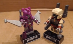 Transformers News: Video Review: Transformers Kre-O Microchangers Cyclonus and Demolishor