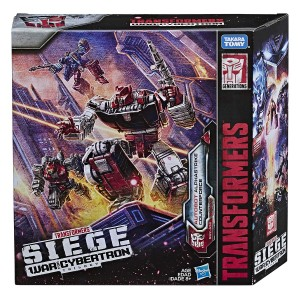 Video Review for Transformers War for Cybertron Siege Autobot Alphastrike Counterforce