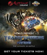 Transformers News: Transformers: The Ride Fun Facts and New Video