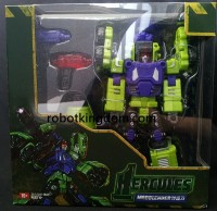 Transformers News: TFC Toys Mad Blender In-Package Images