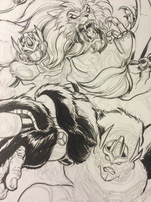 Transformers News: BotCon 2016 Art Prints: Matt Frank and Beast Wars