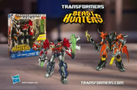 Transformers News: New Transformers Prime Beast Hunters Toy Line Commercial
