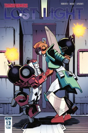 Transformers News: Transformers: Lost Light #13 Cover B Posted - Featuring Cover Art by Nick Roche